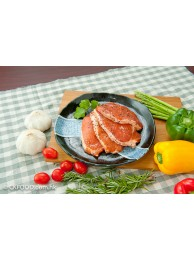 香草黑椒豬柳扒(無骨)