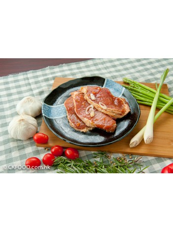香茅豬扒(有骨)