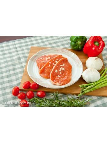 蒜蓉豬柳扒(無骨)